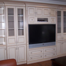 Traditional Living Room by Signature Custom Cabinets