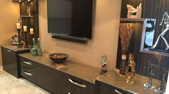 Wall units, Bars & Credenza