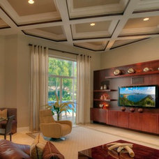 Contemporary Living Room by Yogui International Inc.