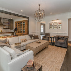 Transitional Living Room by Vintage South LLC