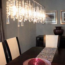 Contemporary Living Room by Jami Abbadessa