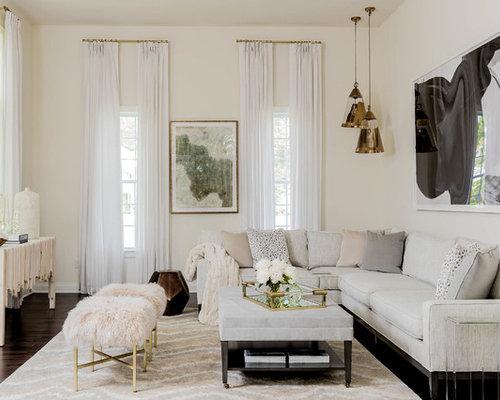 Transitional Living Room Design Ideas, Renovations & Photos | Houzz