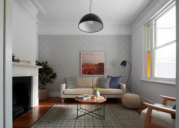 Modern Living Room by Melbourne Design Studios (MDS)