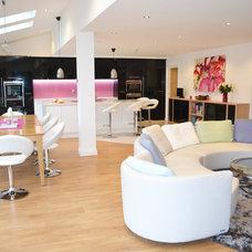 Contemporary Living Room by Fabian Bond Ltd