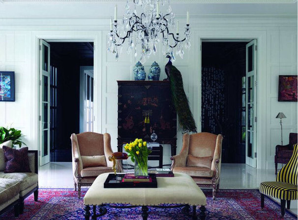 Traditional Living Room by World Architecture News (WAN)