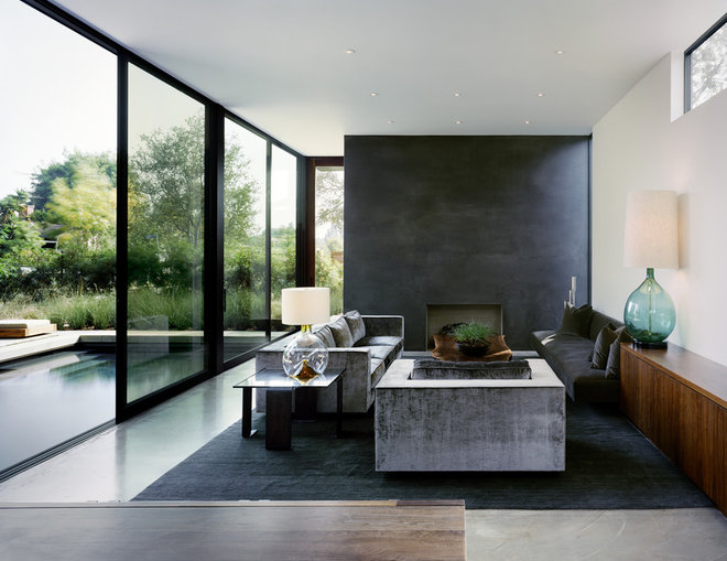 Contemporary Living Room by World Architecture News (WAN)