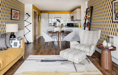 Houzz Tour: Newly Built London Apartment Is Big on Personality