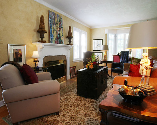 Traditional eclectic for Traditional eclectic living rooms