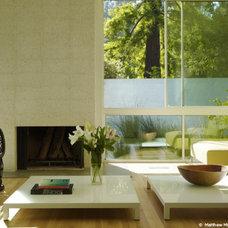 Modern Living Room by Marmol Radziner