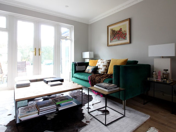 Eclectic Living Room by Seasons in Colour