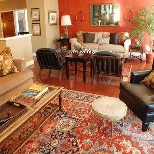 Example of a classic living room design in Boise