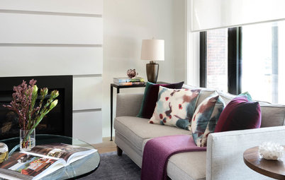 Room of the Day: New Warmth for a Contemporary Home