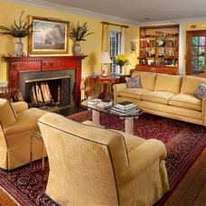 Traditional Living Room by McNally Interiors