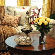 Traditional Living Room by Classica