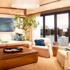 Contemporary Living Room by About:Space, LLC