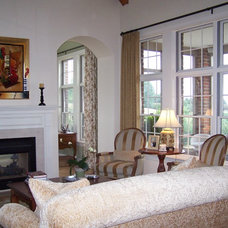 Traditional Living Room by Katie Armour for Ethan Allen King of Prussia