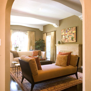 Inspiration for a transitional living room remodel in New Orleans