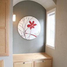 Modern Living Room by Jordan Iverson Signature Homes