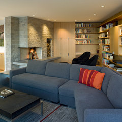 contemporary living room by Warmington & North