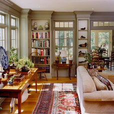 Traditional Living Room by Peter A. King Design
