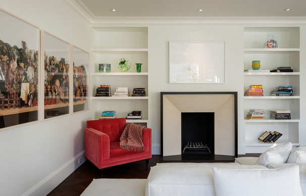 Contemporary Living Room by Sutro Architects