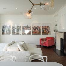 Parisian Modern Style for a San Francisco Flat