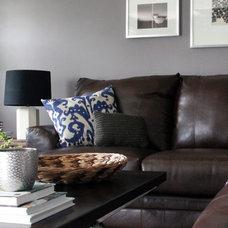 Contemporary Living Room by Victoria Elizabeth Design