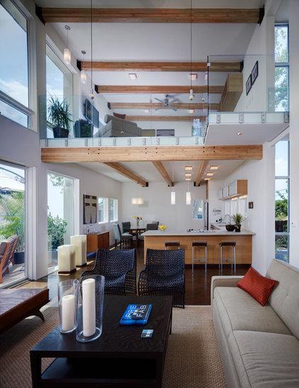 Contemporary Living Room by Studio Twenty Seven Architecture