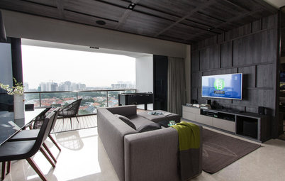 Houzz Tour: This Apartment's Interior Hauls in the Stellar View