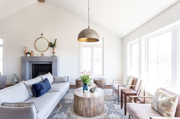Beach Style Living Room by Coco & Jack