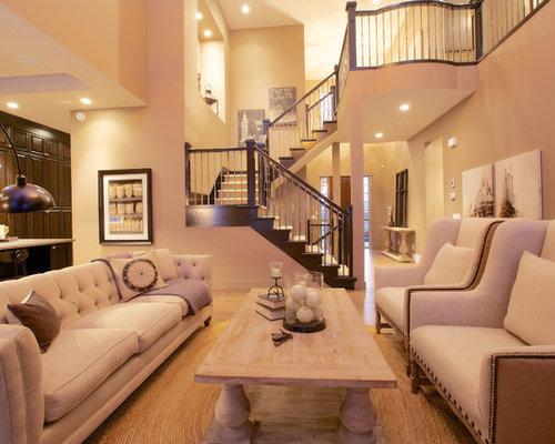 SaveEmailLiving Room Stairs Houzz
