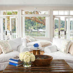 traditional living room by jodi foster design + planning