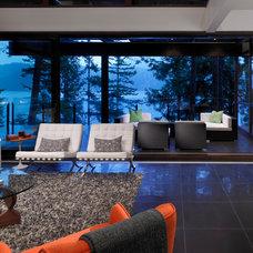 Contemporary Living Room by Sarah Gallop Design Inc.