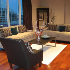 Traditional Living Room by J Renee Designs