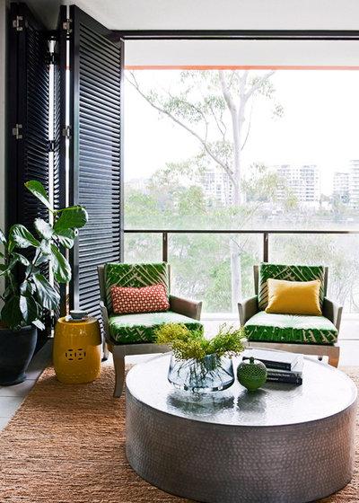 Contemporary Living Room by Penman Brown Indoor Design