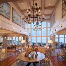 Beach Style Living Room by Bruce Palmer Coastal Design