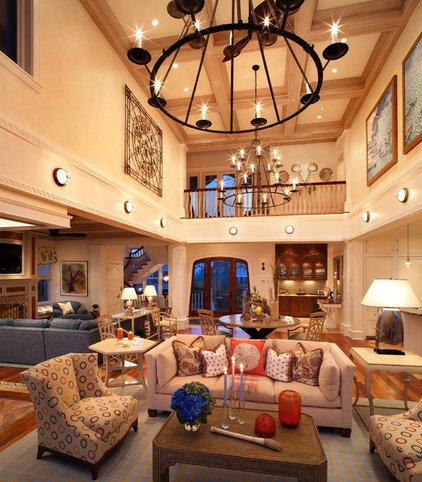 Beach Style Living Room by Bruce Palmer Interior Design