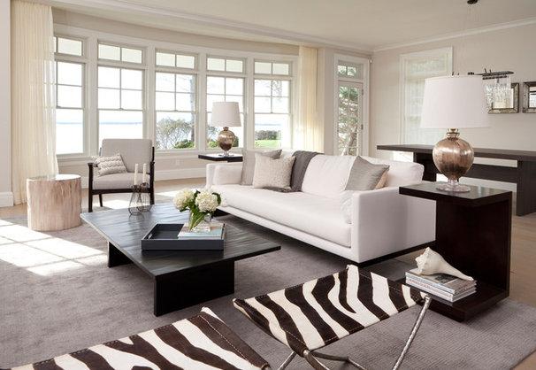 Contemporary Living Room by PURVI PADIA DESIGN