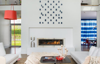 Quick Take: Skyscraper Inspiration for a Statement Fireplace