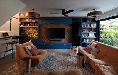 Houzz Tour: From Drab and Dingy to Cosy and Eclectic