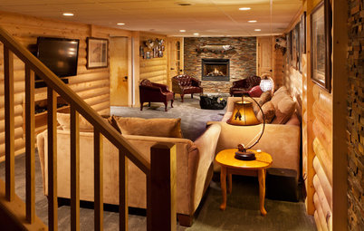 Basement of the Week: Fishing-Focused Spaces Lure the Family In