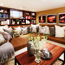 Contemporary Living Room by Sealy Design Inc.