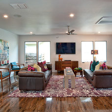 Modern Living Room by Bryant Hill Media