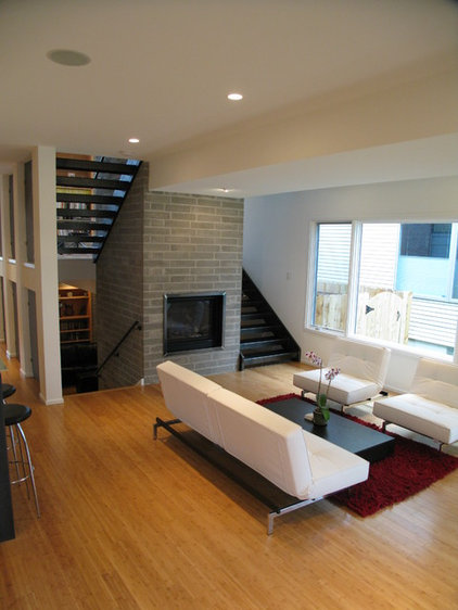 Contemporary Living Room by The ReDevelopment Group