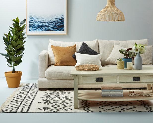 Beach Style Living Room by Resene