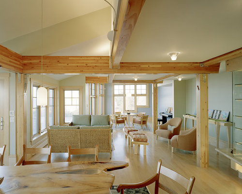 Exposed Glulam Beams Home Design Ideas Pictures Remodel