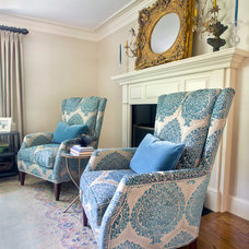 Traditional Living Room by North Fork Design Co.