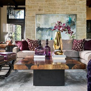 Wesley-Wayne Interiors Living Rooms