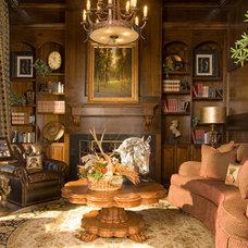 Eclectic Living Room by Wesley-Wayne Interiors, LLC