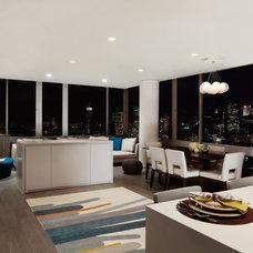 Contemporary Living Room by Alexander Butler | Design Services, LLC